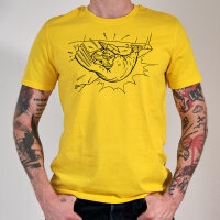 Beard Care ECO T-Shirt yellow