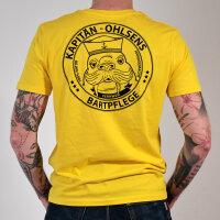 Bartpflege Bio T-Shirt gelb